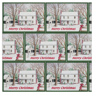 Merry Christmas Classic Cloth Fabric