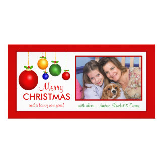 Merry Christmas Classic Holiday Photo Cards