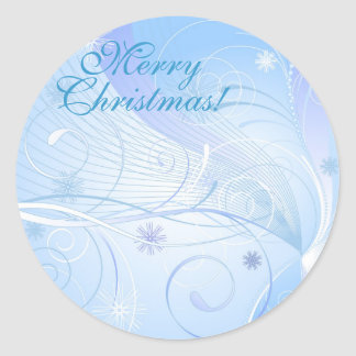 Merry Christmas! Classic Round Sticker