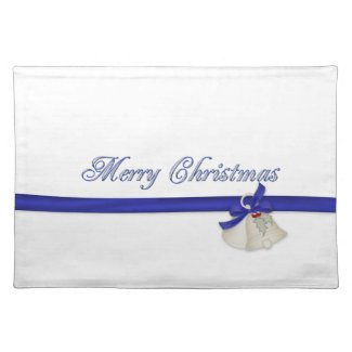 Merry Christmas Cloth Placemat