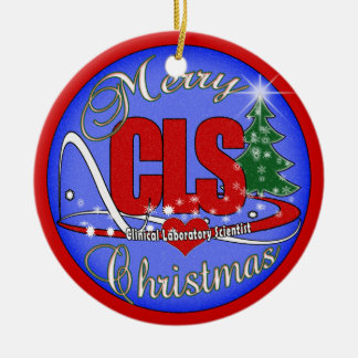 MERRY CHRISTMAS CLS ORNAMENT  CLINICAL SCIENTIST