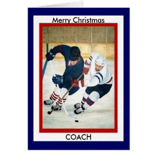 Merry Christmas COACH Cards