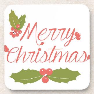 Merry Christmas Coaster
