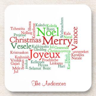 Merry Christmas Coasters