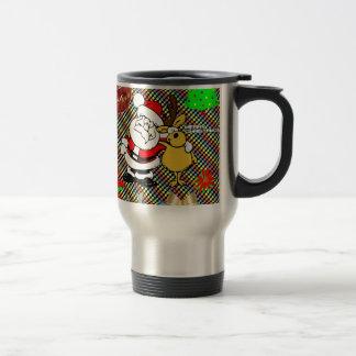 Merry Christmas Collage Mug