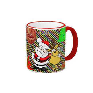 Merry Christmas Collage Coffee Mug