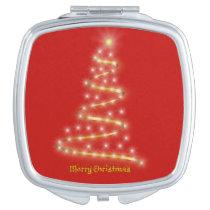Merry Christmas Compact Mirror