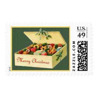 Merry Christmas Cookies Postage Stamp