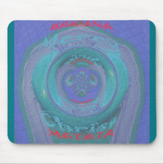 Merry Christmas cool Art design text Mouse Pad