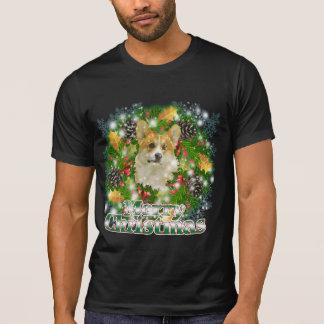 Merry Christmas Corgi Tee Shirt