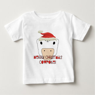 Merry Christmas CowPoke Baby T-Shirt