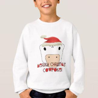 Merry Christmas CowPoke Sweatshirt