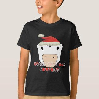 Merry Christmas CowPoke T-Shirt