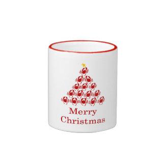 Merry Christmas Crab Ringer Mug