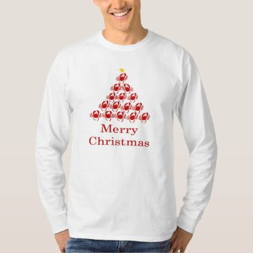Christmas Themed Merry Christmas Crab T-Shirt