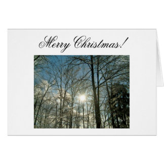 Merry Christmas!-Create Your Own Notecard! Stationery Note Card