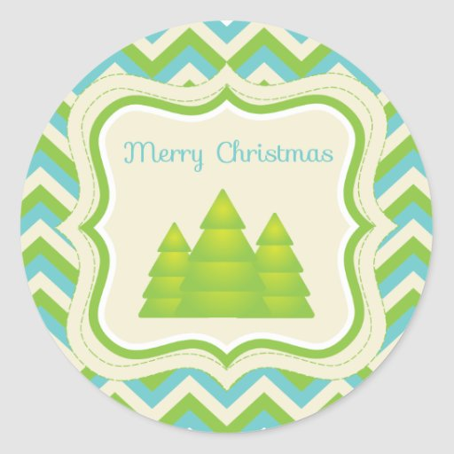 Merry Christmas Cupcake Topper/Sticker