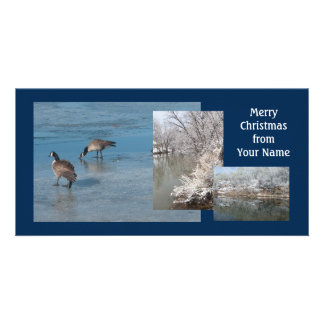Merry Christmas Custom Photo Card