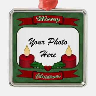 Merry Christmas! Custom Photo Ornament