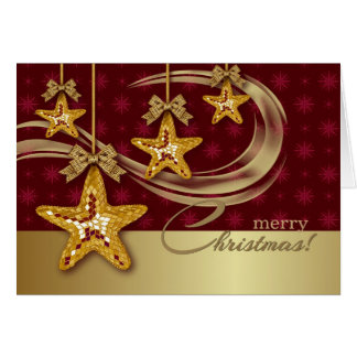 Merry Christmas. Customizable Christmas Card