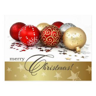 Merry Christmas. Customizable Christmas Postcards