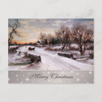 Merry Christmas. Customizable Christmas Postcards