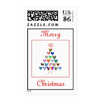 Merry Christmas Customizable Stamps stamp