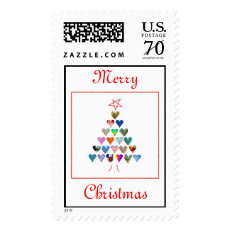 Merry Christmas Customizable Stamps
