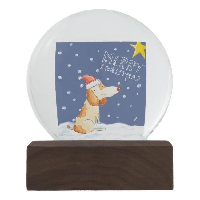 Merry Christmas - Cute dog