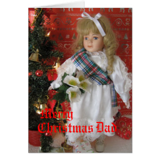 Merry , Christmas, Dad Card