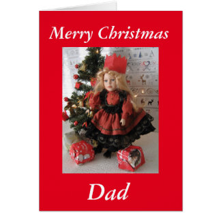 Merry christmas, dad card