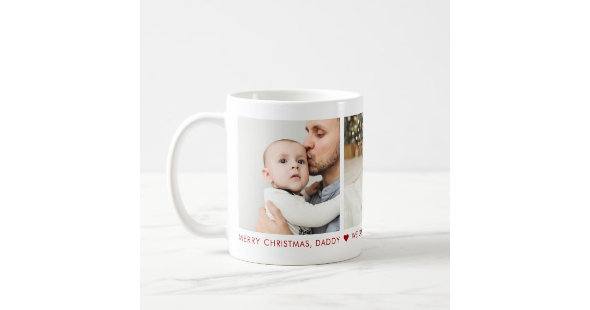 Merry Christmas Daddy 3 Photo Custom