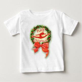Merry Christmas Dance Dancer Gymnasitcs Baby T-Shirt