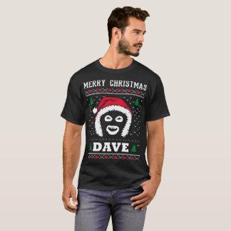 Merry Christmas Dave League Of Gentlemen T-Shirt