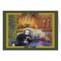 Merry Christmas Dear Friend Card