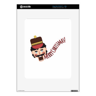 Merry Christmas Decal For The iPad