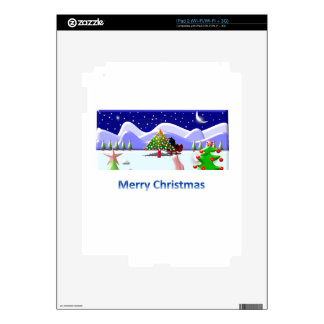 Merry Christmas Decals For iPad 2