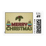 Merry Christmas Decor Stamps