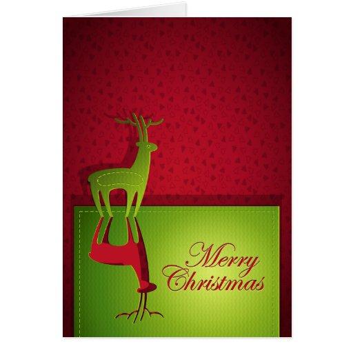 Merry Christmas Deer Card
