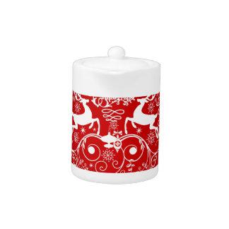Merry Christmas Deer Friends! Teapot