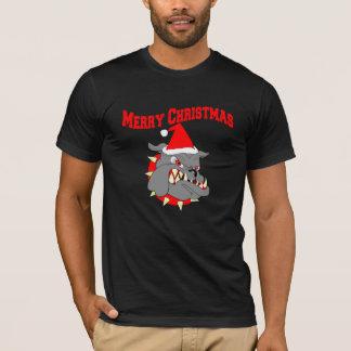 Merry Christmas Devil Dog T-Shirt