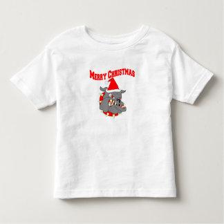Merry Christmas Devil Dog Tee Shirts