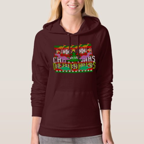 Merry Christmas Dinosaurs Ugly Christmas Sweater After Christmas Sales 5871