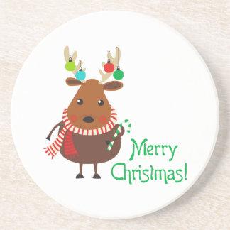 Merry Christmas! Drink Coaster