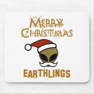 Merry Christmas, Earthlings Mouse Pad