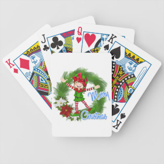 Merry Christmas Elf Card Decks