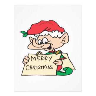 Merry Christmas Elf Flyers