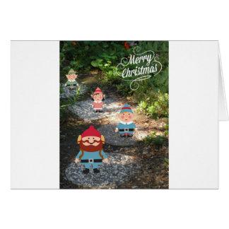 Merry Christmas Elves Card