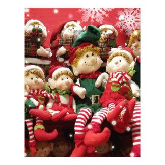 Merry Christmas Elves Letterhead