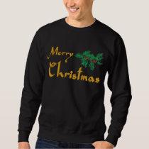 Merry Christmas Embroidered Shirt